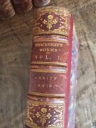 1869 Complete Works Of Thackeray 22 Volumes 1st Edition - Antique Leather Books