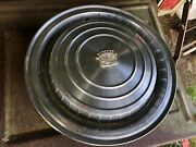 Set Of 4 1959 1960 1961 Cadillac Hubcaps Wheel Covers