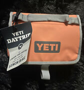 New Sold Out Coral Yeti Daytrip Lunch Bag Discontinued