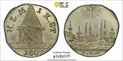 Pcgs Nurnberg Ms 65 1 Kreuzer 1807 Silver Coin City View Rare One Year Type Unc