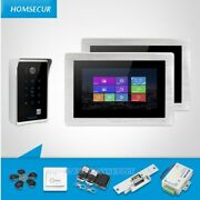 Homsecur 7 Wired Video Door Entry Security Intercom+recording And Snapshot