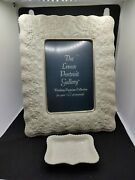 Lenox Wedding Promises Collection 5x7 Frame And Ring Trivet Tray