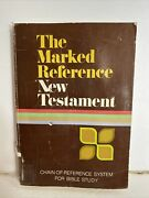 The Marked Reference New Testament - Zondervan Bible Publisher Paperback, 1983