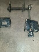 John Deere 4300 Belly Lift System With Support Arms With Hydraulic Cylinder