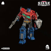 Threezero - War For Cybertron Optimus Prime Dlx [in Stock] • New And Official •
