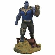 Diamond Select Avengers Gallery Thanos 9-inch Collectible Pvc Statue In Hand