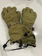 Outdoor Research Firebrand Gloves Extreme Cold Weather Medium Coyote W/liners