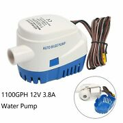 Automatic Submersible 1100gph Boat Water Bilge Pump 12v 3.8a With Float Switch
