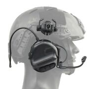 Tactical Helmet Headset Noise Reduction Sound Pickup Military Hearing Protection