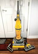 Dyson Dc07 All-floors Hepa Filter Root 8 Cyclone Upright Vacuum W/ Attachments