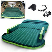 Inflatable Travel Bed Air Mattress Car Seat With Air Pump Outdoor Camping Back