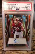 2019 Panini Select Chase Young Xrc Auto Tie Dye Rookie 6/25 Psa 10