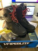 Hyperlite Kruz Size 8 System Wakeboard Boots - Excellent Condition Barely Used