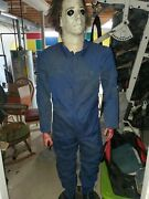 Halloween Prop Gemmy Michael Myers. 2011. 6 Ft Tall. Amazing. As Is. Read.