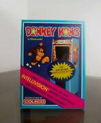 1982 Donkey Kong Coleco Intellivision 6 Units Sealed In Factory Box -holy Grail