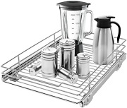 Ahnr Pull Out Cabinet Organizer, Heavy Duty Slide Out Kitchen Cabinet Organizers