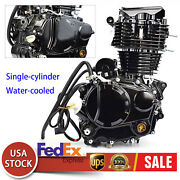 4-stroke 350cc Black Engine Single-cylinder For Most Chinese 3 Wheel Motorcycle