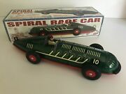 Schylling Spiral Race Car Collector Series 2011 Model Rubber Tyres - New In Box