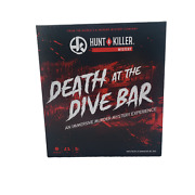 Hunt A Killer Mystery Death At The Dive Bar By Gnomish Hat, Inc. 2020 Complete
