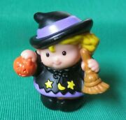 Fisher Price Little People Halloween Witch Sarah Lynn Trick Treat Figure