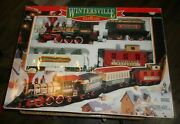 1996 G Scale New Bright Wintersville Express Train Set Untested Looks Good Used