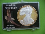 2005 Gold And Silver Colorized 1 American Silver Eagle