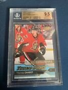 2016-17 Ud Series 2 Thomas Chabot Young Gun Exclusives Bgs 9.5