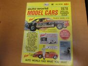 1970 Auto World Catalog Special Summer 19th Edition Model Cars, Slot Cars, Etc.