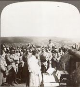 Ww1. Prayers On The Battlefield. Mass In Allied Trenches Western Front