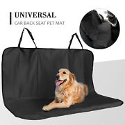Pet Seat Cover Pad Dogs Car Back Seat Protector Dirty Cushion Travel Resistant
