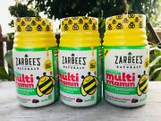 3 Zarbees Naturals Childrens Complete Multi Vitamin Mixed Berry Gummies 02/2022