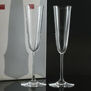Baccarat H9.4 Champagne Flute / Champagne Glass X1 Tableware Clear Crystal