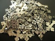 Lot Of 100 Pcs Large Crucifix Crosses From Jerusalem Holy Land Blessed 46