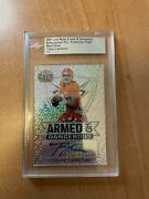 2021 Leaf Metal - Trevor Lawrence - Armed And Dangerous Silver Mojo Auto And039d 1/1