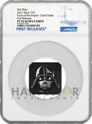 2021 Star Wars Faces Of The Empire - Darth Vader - Ngc Pf70 First Releases