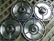 4 Nice Vintage 1964 64 Chevrolet Chevy Impala Chevelle Ss Hubcaps Wheel Covers