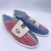 Linds Bowling Shoes Mens 8 Womens 9 41 Red Black Hook And Loop Closure