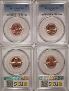 2017 P And D Lincoln Shield Cent 2 Coin Set 1c Pcgs Ms67rd