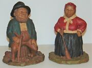 Tom Clark Gnome Figurines Lot Hattie Hand Signed And Lawrence