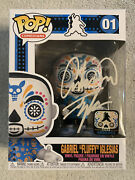 Funko Pop Gabriel Fluffy Iglesias Day Of The Dead Signed Autograph Le 4000 Stack