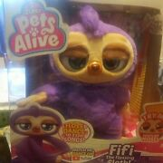Zuru Pets Alive Fifi The Flossing And Dancing Sloth Battery-powered Robotic Toy
