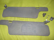 Nissan 300zx Interior Sunvisors/holders Black Color 1990-1996