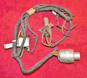 1939 Ford Deluxe Car Mercury Nos Head Lamp Wiring Harness And Dimmer Switch Relay