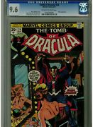 Tomb Of Dracula 24 Cgc 9.6 1974 Early Blade Appearance Gil Kane Gene Colan Blue
