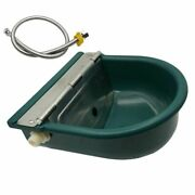 Plastic Drain Hole Drink Water Trough Bowl Cattle Horses Goats Sheep Pig Dog