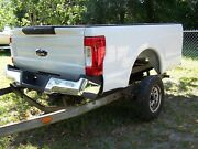 2017-2020 Ford F250 F350 Super Duty Bed/box Tail Gate/ Lamps/bumper 8 Ft White