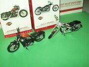 Hallmark Lot Harley 2013 Breakout And 2014 Sportster Motorcycle 2014-15 Ornaments