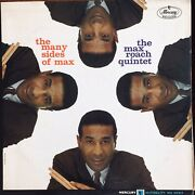"""Max Roach """"the Many Sides Of"""" Booker Little/george Coleman 1964 Mono Mercury Lp"""