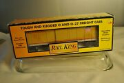 Mth Rail King Union Pacific Rounded Roof Box Car 30-7430
