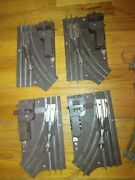 Total Of 4 Lionel O-27 Rh And Lh Switches 5122 And 5121